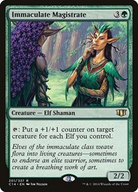 Immaculate Magistrate, Magic: The Gathering, Commander 2014