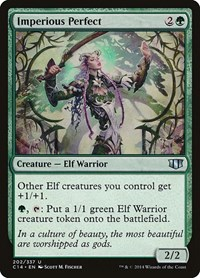 Imperious Perfect, Magic: The Gathering, Commander 2014