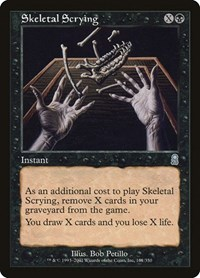 Skeletal Scrying, Magic: The Gathering, Odyssey