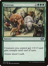 Overrun, Magic: The Gathering, Commander 2014