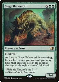 Siege Behemoth, Magic: The Gathering, Commander 2014