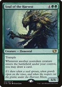 Soul of the Harvest, Magic: The Gathering, Commander 2014