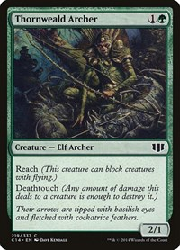 Thornweald Archer, Magic: The Gathering, Commander 2014