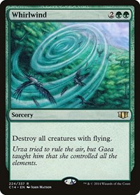 Whirlwind, Magic: The Gathering, Commander 2014