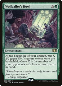 Wolfcaller's Howl, Magic: The Gathering, Commander 2014