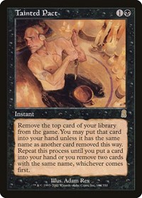 Tainted Pact, Magic: The Gathering, Odyssey