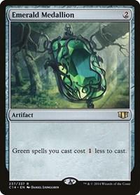 Emerald Medallion, Magic, Commander 2014
