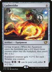 Lashwrithe, Magic: The Gathering, Commander 2014