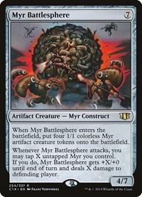 Myr Battlesphere, Magic: The Gathering, Commander 2014