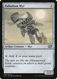 Palladium Myr, Magic: The Gathering, Commander 2014