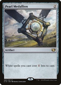Pearl Medallion, Magic, Commander 2014