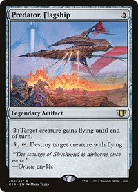 Predator, Flagship, Magic: The Gathering, Commander 2014