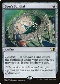 Seer's Sundial, Magic, Commander 2014