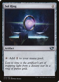 Sol Ring, Magic: The Gathering, Commander 2014