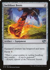 Swiftfoot Boots, Magic: The Gathering, Commander 2014