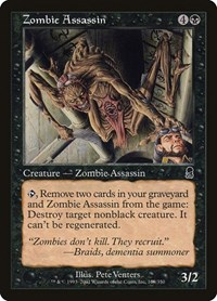 Zombie Assassin, Magic: The Gathering, Odyssey