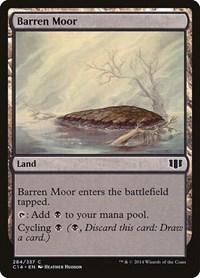 Barren Moor, Magic: The Gathering, Commander 2014
