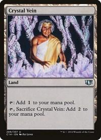 Crystal Vein, Magic: The Gathering, Commander 2014
