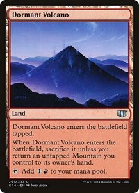 Dormant Volcano, Magic, Commander 2014