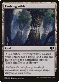 Evolving Wilds, Magic: The Gathering, Commander 2014