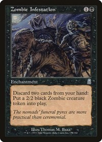 Zombie Infestation, Magic: The Gathering, Odyssey