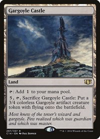 Gargoyle Castle, Magic: The Gathering, Commander 2014