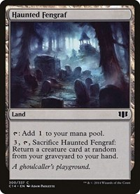 Haunted Fengraf, Magic: The Gathering, Commander 2014