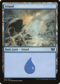 Island (323), Magic: The Gathering, Commander 2014