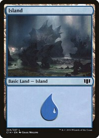 Island (324), Magic: The Gathering, Commander 2014