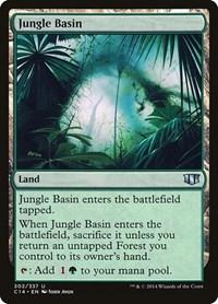 Jungle Basin, Magic, Commander 2014