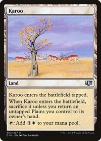 Karoo, Magic, Commander 2014