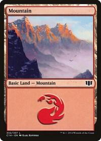 Mountain (332), Magic: The Gathering, Commander 2014