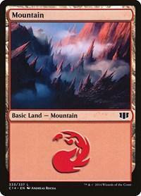 Mountain (333), Magic: The Gathering, Commander 2014