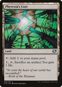 Phyrexia's Core, Magic: The Gathering, Commander 2014