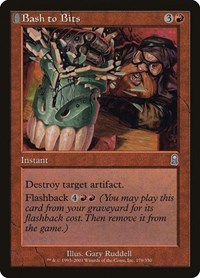 Bash to Bits, Magic: The Gathering, Odyssey