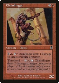 Chainflinger, Magic: The Gathering, Odyssey