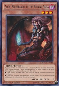 Alich, Malebranche of the Burning Abyss, YuGiOh, The New Challengers