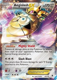 Aegislash EX, Pokemon, XY - Phantom Forces