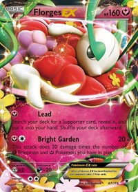 Florges EX, Pokemon, XY - Phantom Forces