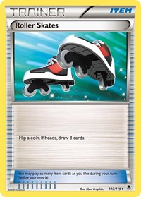 Roller Skates, Pokemon, XY - Phantom Forces