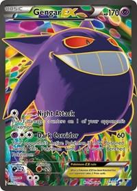 Gengar EX (114 Full Art), Pokemon, XY - Phantom Forces