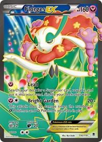 Florges EX (116 Full Art), Pokemon, XY - Phantom Forces