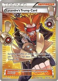 Lysandre's Trump Card (118 Full Art), Pokemon, XY - Phantom Forces