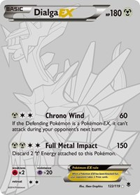 Dialga EX (122 Secret Rare) (Foil)