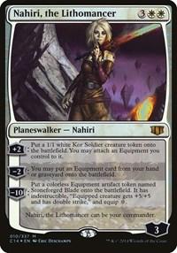 Nahiri, the Lithomancer (Commander 2014), Magic: The Gathering, Oversize Cards