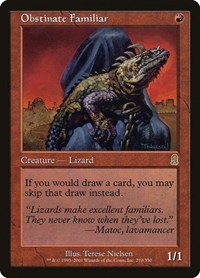 Obstinate Familiar, Magic: The Gathering, Odyssey
