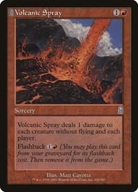 Volcanic Spray, Magic: The Gathering, Odyssey
