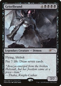 Griselbrand, Magic: The Gathering, Grand Prix Promos