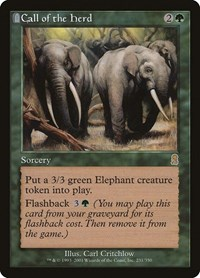 Call of the Herd, Magic: The Gathering, Odyssey
