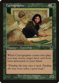 Cartographer, Magic: The Gathering, Odyssey